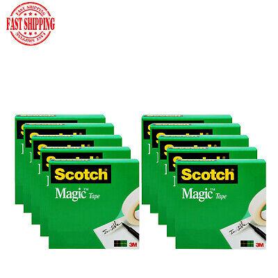 Scotch Magic Office Tape 34 In X 800 In 10 Refill Packs