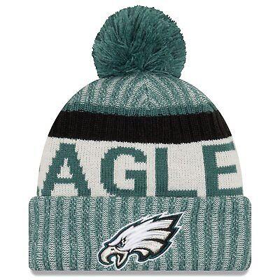 Philadelphia Eagles New Era 2017 On-Field Sport Knit Hat