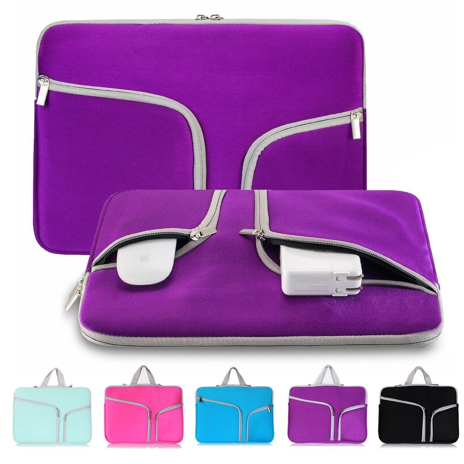 """11""""13""""15"""" Laptop Sleeve Bag Case Pouch Cover For Notebook MacBook Air Pro Retina"""