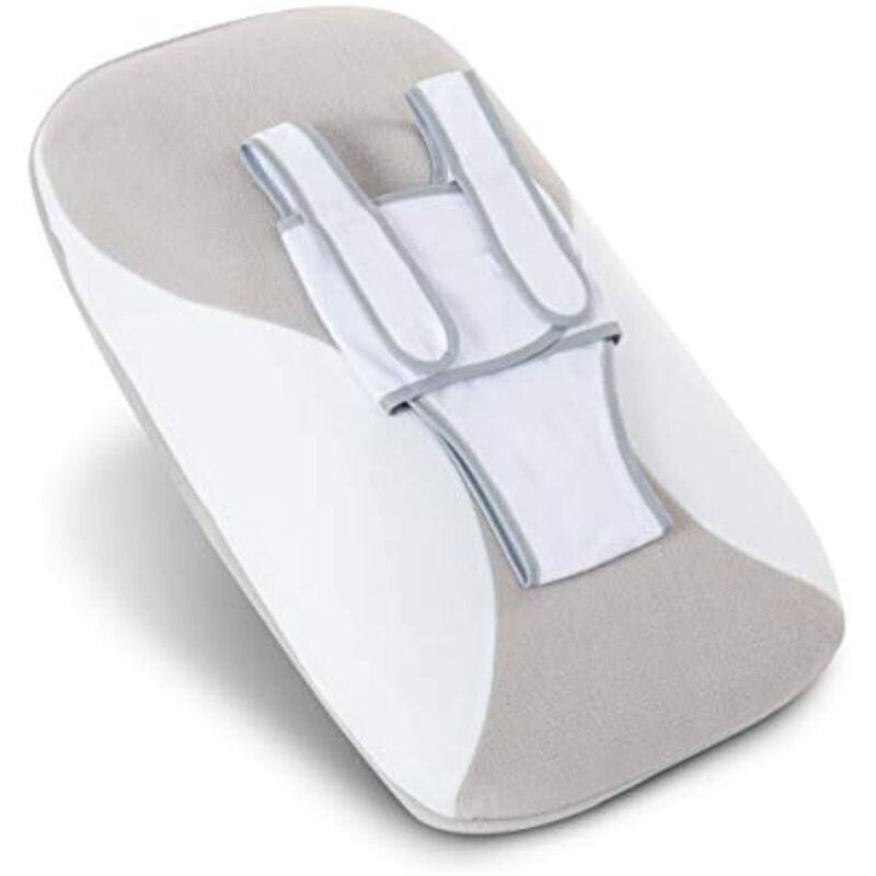 Babocush Newborn Comfort Cushion - Gray/White