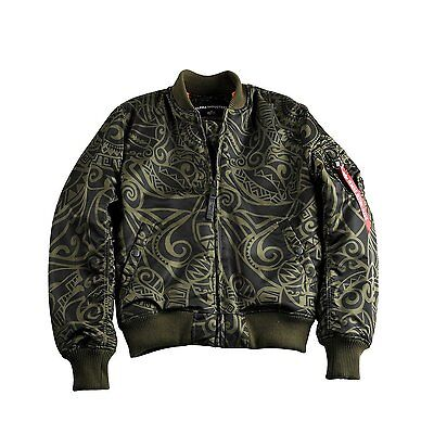 alpha industries jacke ma-1 vf tonga xl