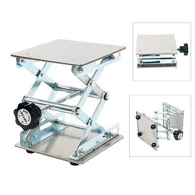 Laboratory Scissor Jack 6 X 6 Stainless Steel Platform Lab Stand Table Scissor