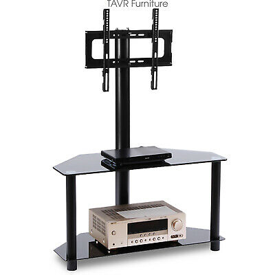 Swivel Corner TV Stand with Adjustable Mount for 32-55 inch Flat Screen