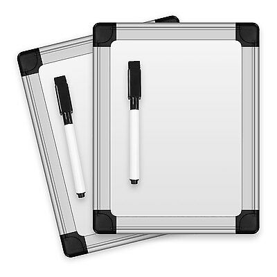 Thorntons Office Supplies 8.25 In X 6.5 In Dry Erase Board Set Of 2