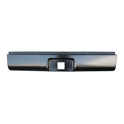 Brand New 18 Gauge Steel Rear Roll Pan with License Plate Box & Tag Light