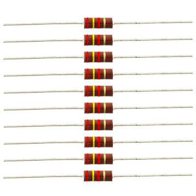 12 Watt Carbon Comp Resistors - 2.4k Ohm 10 Pack