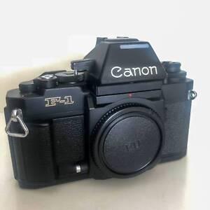 Canon F1-N w/ 50mm FD f1.4 and FD 28mm (Mint)   Warranty