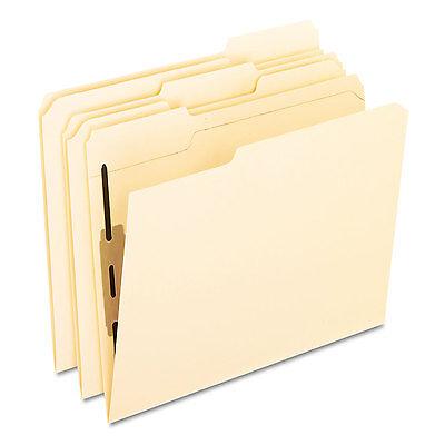 Pendaflex Folders With One Bonded Fastener 13 Cut Top Tab Letter Manila 50box