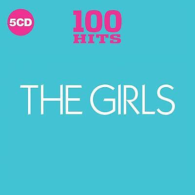 Various - 100 Hits: The Girls (2018)  5CD  NEW/SEALED  SPEEDYPOST