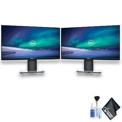 Dell P2219H 21.5 16:9 Ultrathin Bezel IPS Monitor Dual Monitor Set With Deluxe