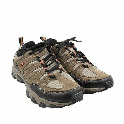 Fila Men's Outdoor Hiking Trail Running Athletic Shoes Brown