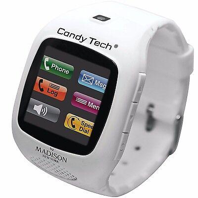 Madison New York Candy Tech® Telefonuhr Weiß Unisex CT-03 Candy Tech