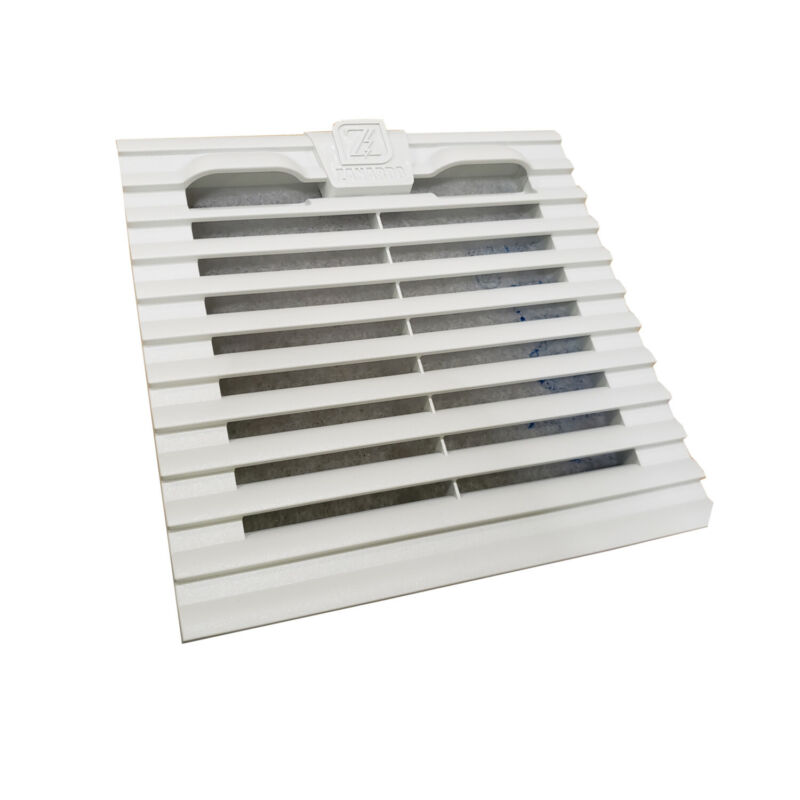 """Inlet Filter and Grille by Tecnomatic ARIAF-150W for Control Panel Enclosures 6"""""""