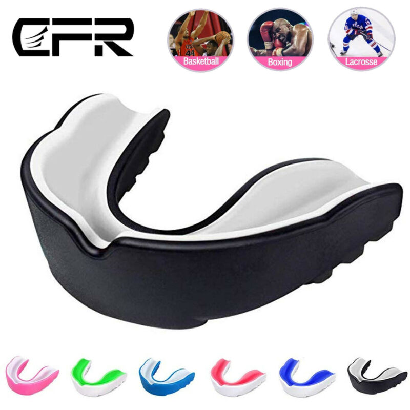Mouth Guard Sports Mouth Guard Basketball MMA Boxing Adult Y