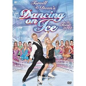 DANCING ON ICE The Live Tour 2012 SEALED/NEW dvd Torvill and Dean +