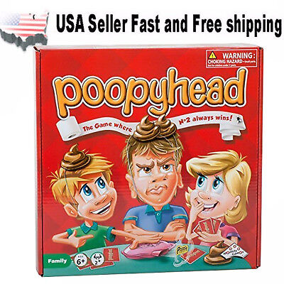 Poopyhead Toy The Game where No 2 always wins! Table Game Card Game US Seller for sale  Shipping to India