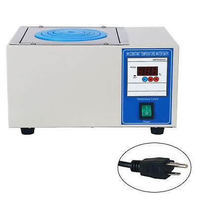 110v Digital Lab Thermostatic Water Bath Single Hole Electric Heating 300w