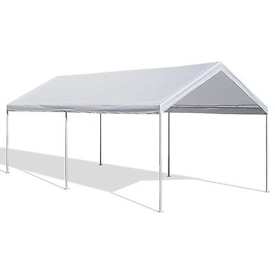 Caravan Canopy 10 X 20 Feet Domain Carport Garage Tent Car Port Shelter, NEW