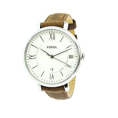 Fossil Women's Jacqueline ES3708 Brown Leather Japanese Quartz Fashion Watch