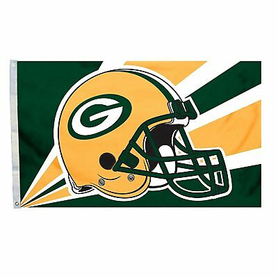 GREEN BAY PACKERS FLAG 3'X5' NFL BANNER: FAST FREE SHIPPING](Green Bay Packers Flag)