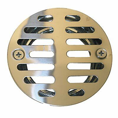 "LASCO 03-1231 Stainless Steel Stall Shower Drain Strainer w 1.5"" Female Thread"