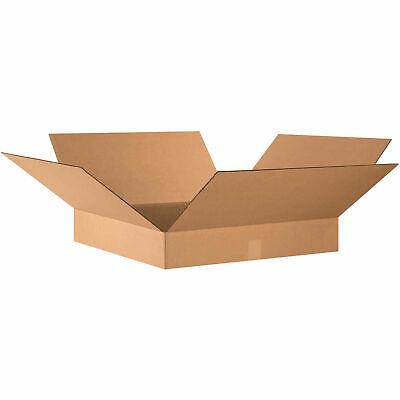 24 X 24 X 4 Flat Cardboard Corrugated Boxes 65 Lbs Capacity 200ect-32