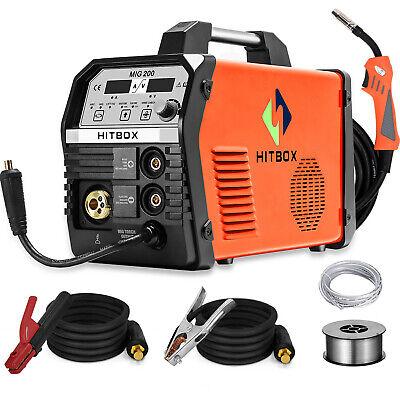 Hitbox 4in1 Mig Welding Machine 200a Gas Gasless Stick Arc Lift Tig Mig Welder