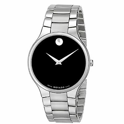 Movado 0607283 Men's Serio Black Quartz Watch