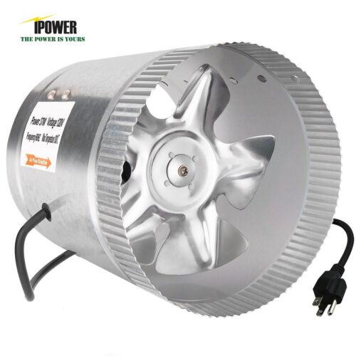 iPower ETL Certified Booster Fan Inline Exhaust Blower for D