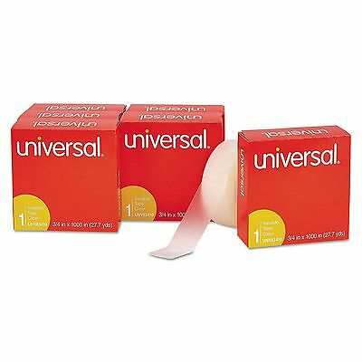 12 Pack Universal Invisible Tape 34 X 1000 1 Core Clear Transparent Lot Magic