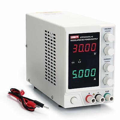 Uni-t 30v 5a Linear Power Supply Utp3315tfl-ii Regulated Bench 4 Digital Led