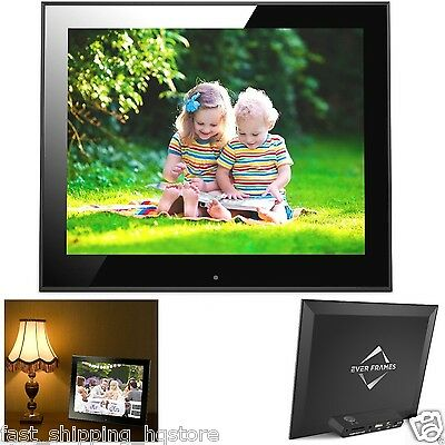 Electronic Picture Frame 9 inch Hi-Res Digital Photo Frame with 8 GB Memory NEW