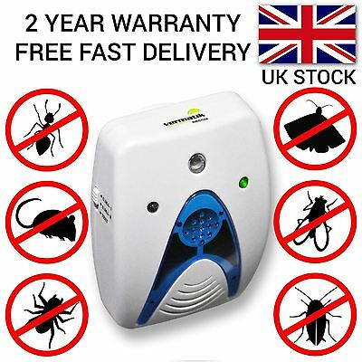 VERMATIK ELECTRONIC PLUG IN PEST CONTROL REPELLER RODENT MOUSE MICE RAT SPIDER