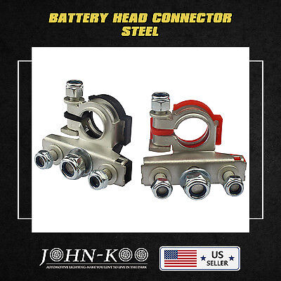 Pair NewHeavy Duty positive negative Battery Terminal Fits For Toyota All Models