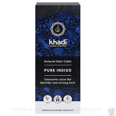 Pure Natural BOTANICAL DYE KHADI Herbal Hair Colour PURE INDIGO 100g