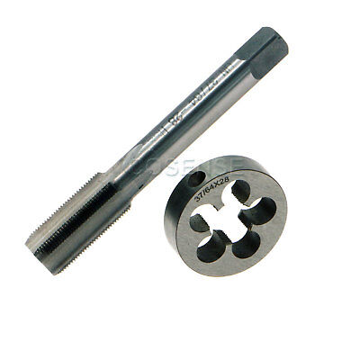New 3764 - 28 Right Hand Thread Tap And Die Set Aka .578-28