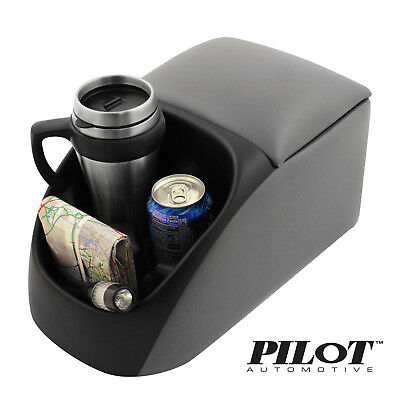 "Pilot Universal Center Bench Seat Console with Cup Holders 9.75 x 10"" x 16.75"""