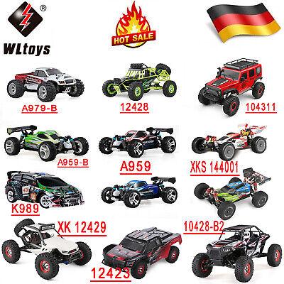 WLtoys 2.4G 4WD RC Auto High Speed Elektro Ferngesteuert Monster Truck Buggy Car
