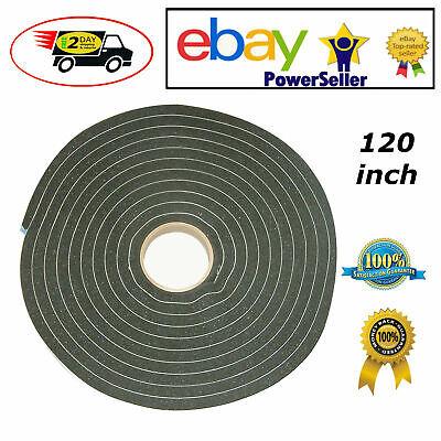 High Density Foam Tape Self-adhesive Waterproof Dustprooof Weatherstrip 120-inch
