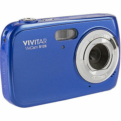 Vivitar ViviCam VS126-BLU S126 16MP Digital Camera (Blue)™ Digital Blue Vivitar Vivicam