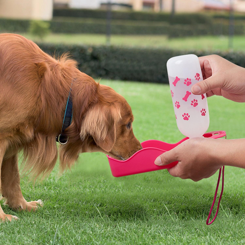Dog Water Bottle Water Dispenser, Pets Travel Mug Drink Bott