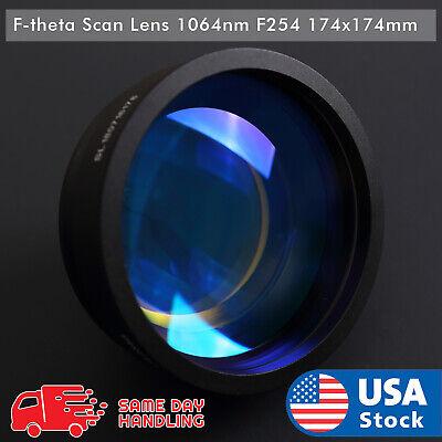 New 1064nm Laser F-theta Scan Lens F254 174x174mm