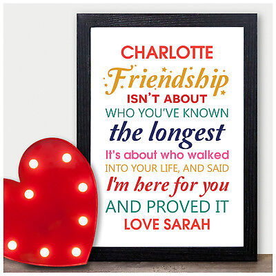 Personalised Birthday Gifts for Best Friends BFF Work Colleagues