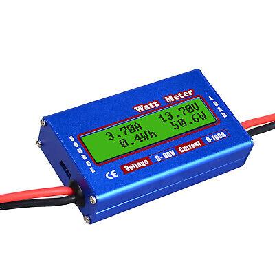 Lcd Digital Power Monitor Watt Amp Volt Kwh Meter Analyzer Voltage Checker Q5r6