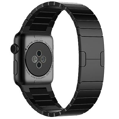 JETech 2219 Apple Watch Band 42mm Stainless Steel Butterfly Link Bracelet Band