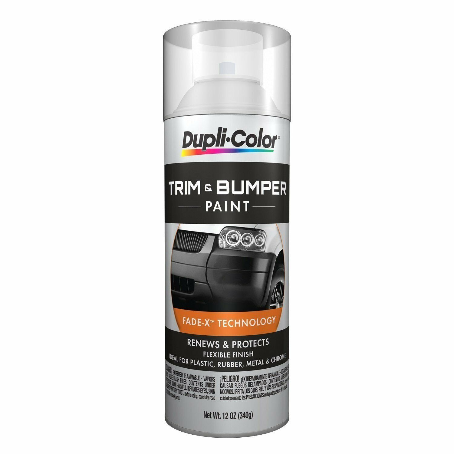 duplicolor tb100 clear auto bumper trim 11oz aerosol spray paint new for sale in colonial. Black Bedroom Furniture Sets. Home Design Ideas