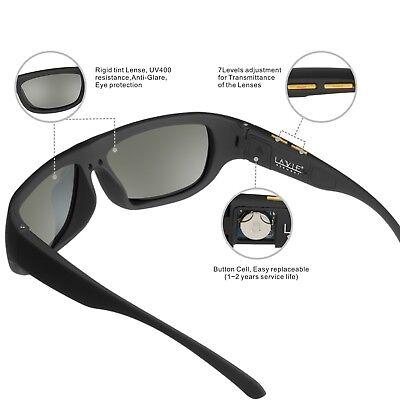 Liquid Crystal Lens - LCD Sunglasses Polarized Men Electronic Tinting Adjustable Liquid Crystal lenses