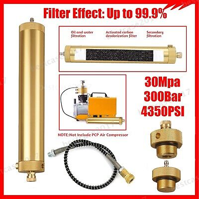 Pcp Air Compressor Oil-water Separator Air Filter 4500psi 30mpa High Pressure