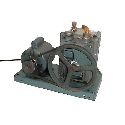 Welch Duo Seal Belt Drive Vacuum Pump Wge .5hp 1725rpm 115230v Motor