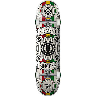 "Element Skateboards Regal Rasta Complete Skateboard - 8"" x 31.75"""
